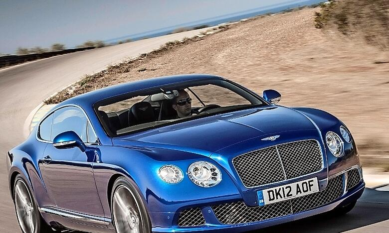 Where are bentleys made
