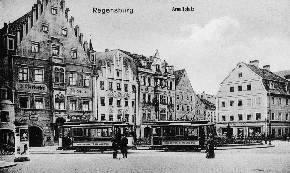 historische fotos regensburgs stra enbahn region regensburg mittelbayerische. Black Bedroom Furniture Sets. Home Design Ideas