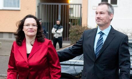 Andrea Nahles Marcus Frings