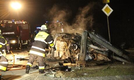 Obertraubling Unfall