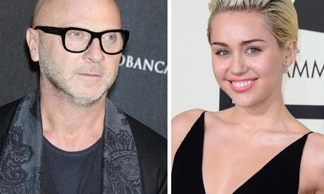 Wortgefecht: Stefano Gabbana attackiert Miley Cyrus