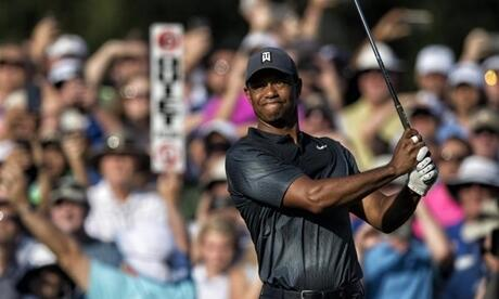 Superstar der 118. US Open: Tiger Woods. Foto: Frakes-Heald/ZUMA Wire