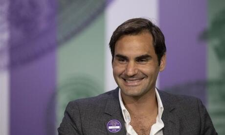In Wimbledon ist Roger Federer an Position eins gesetzt. Foto: Jed Leicexter/Aeltc/PA Wire