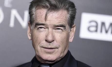Schauspieler Pierce Brosnan 2017 in Los Angeles. Foto: Richard Shotwell