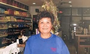 Inhaberin Frau Nguyen Thi Mot im China-Imbiss Saigon City. Foto: Saigon City