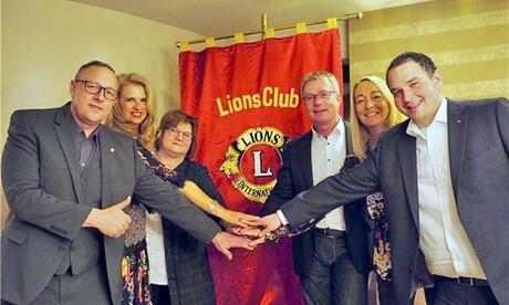 Das neue Team des Lions Club Beilngries Foto: Lions Club Beilngries