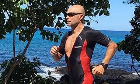 Mike Weber meisterte den Ironman auf Hawaii. Foto: Beate Hensiek