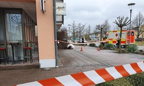 Großeinsatz in Bad Gögging